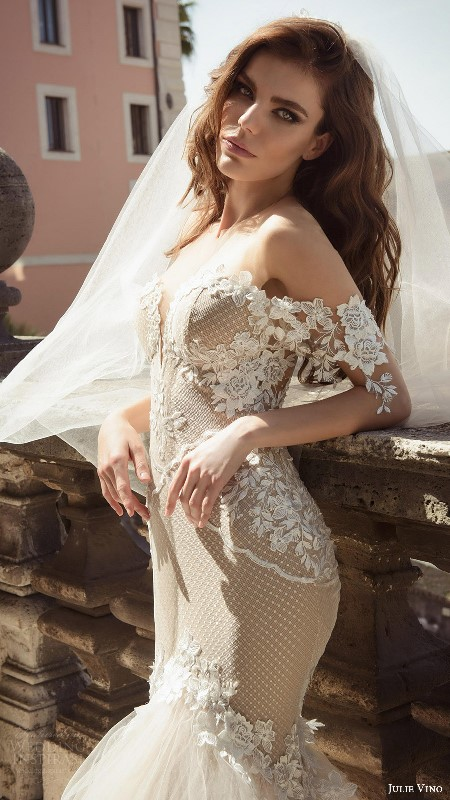 The Hottest Wedding Trend For 2017: 19 Bridal Dresses With Exposed Shoulders