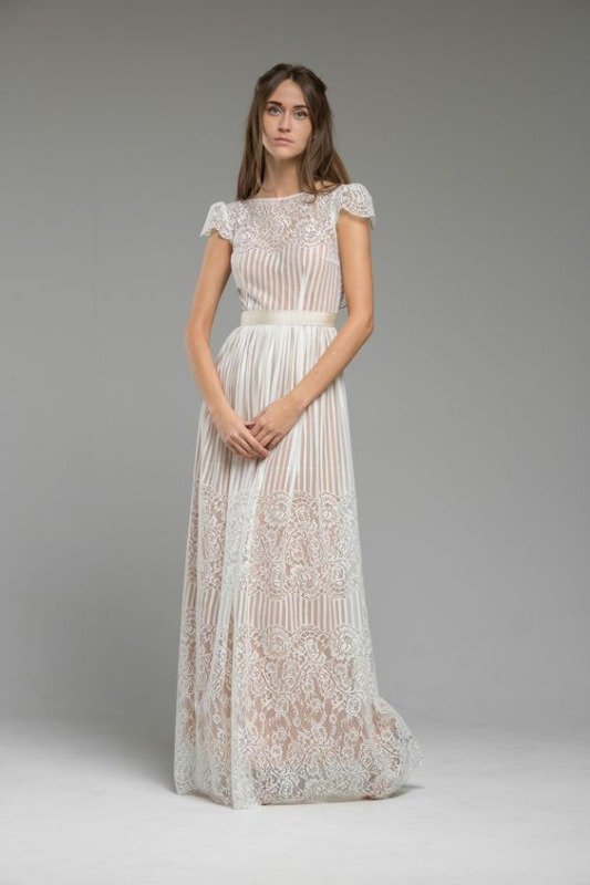 Vintage Boho The Flowers Of The Valley Wedding Dresses