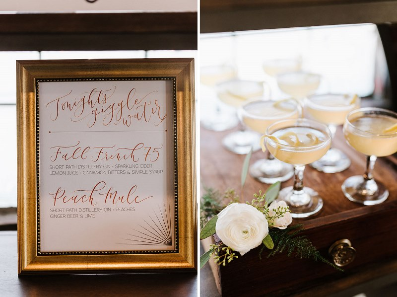 Picture Of vintage industrial rehearsal dinner copper details  19