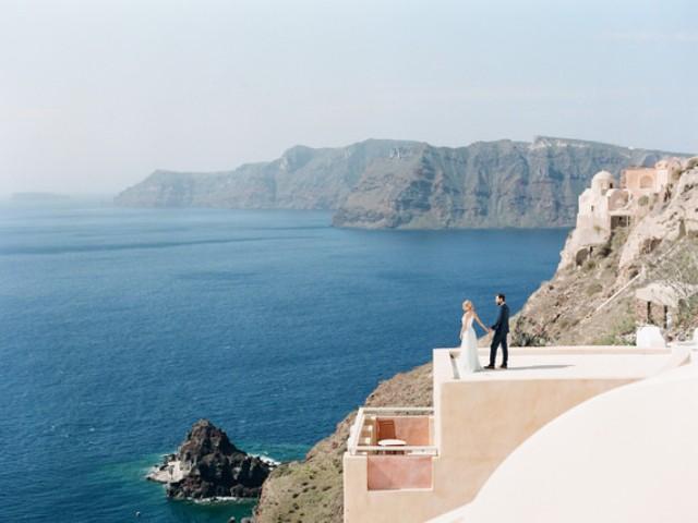 Grecian Santorini Inspirational Wedding Shoot