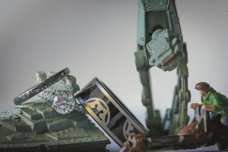 Star Wars Themed Hawaiian Destination Wedding