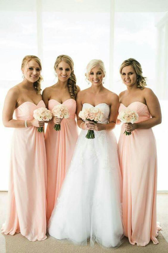 Blush Colored Wedding Gowns 002 - Blush Colored Wedding Gowns