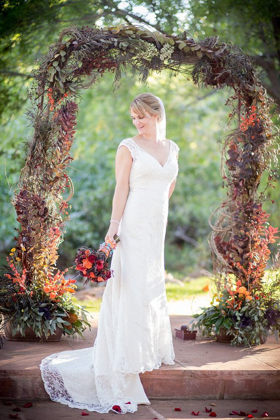 Outdoor Wedding Alter Ideas
