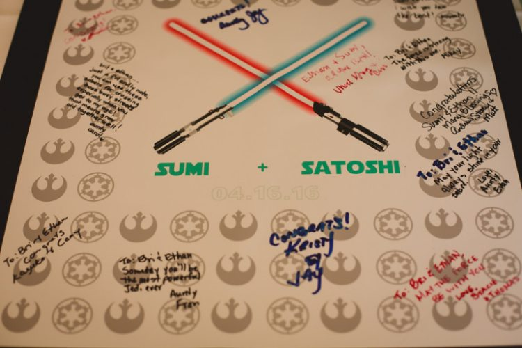 geek alternative guest book