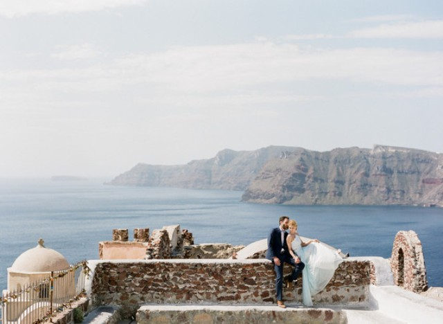 seascapes are adorable on Santorini