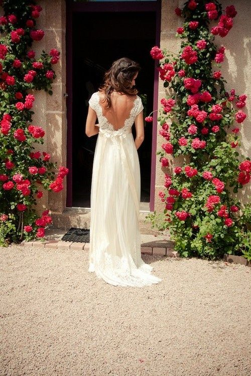 open back flowy dress