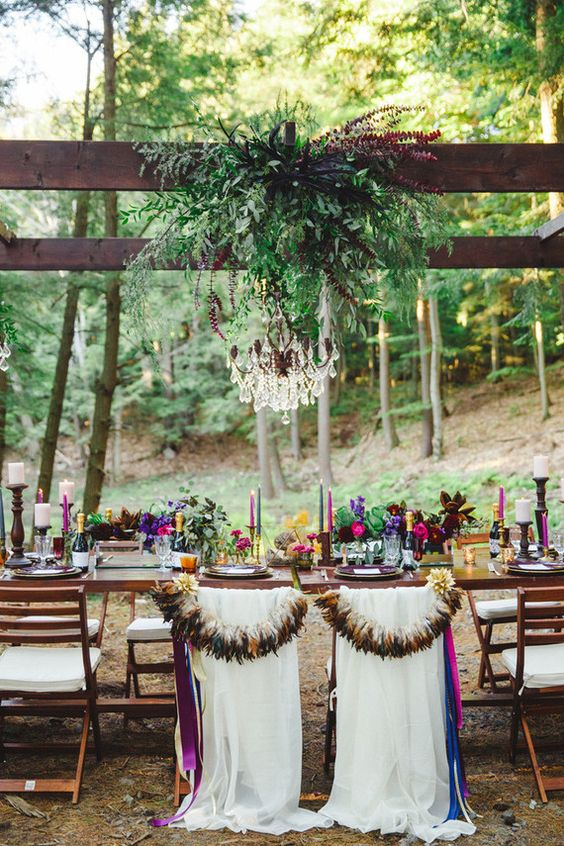 bohemian wedding decorations 27 bold boho chic fall wedding ideas weddingomania 1999