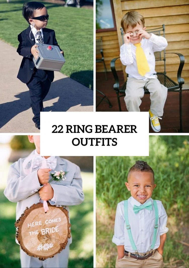 22 Cute And Stylish Ring Bearer Outfits