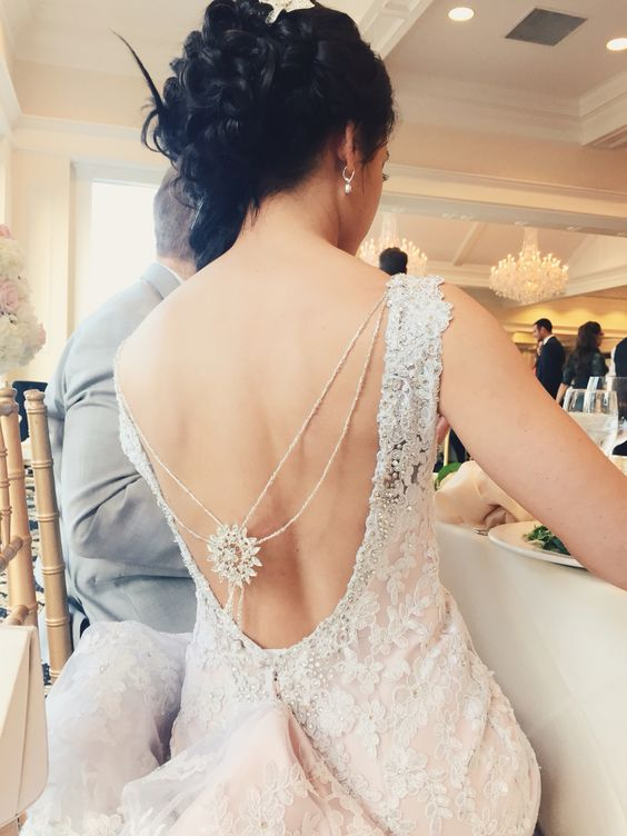 29 Back Wedding Necklaces The Hottest Trend Right Now