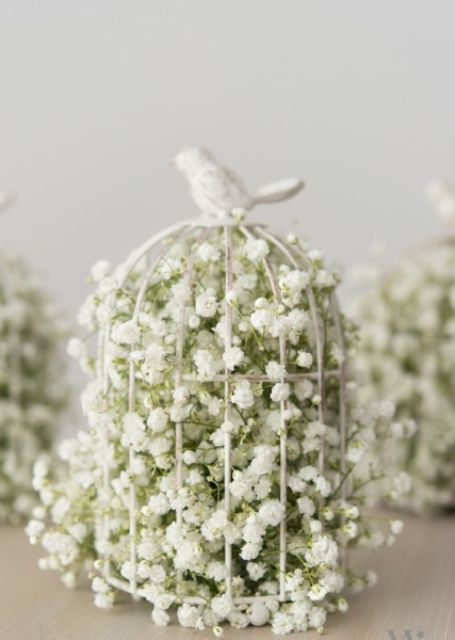 Nice way to show baby breath flowers