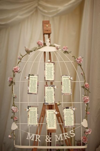 Interesting Way To Use A Birdcage