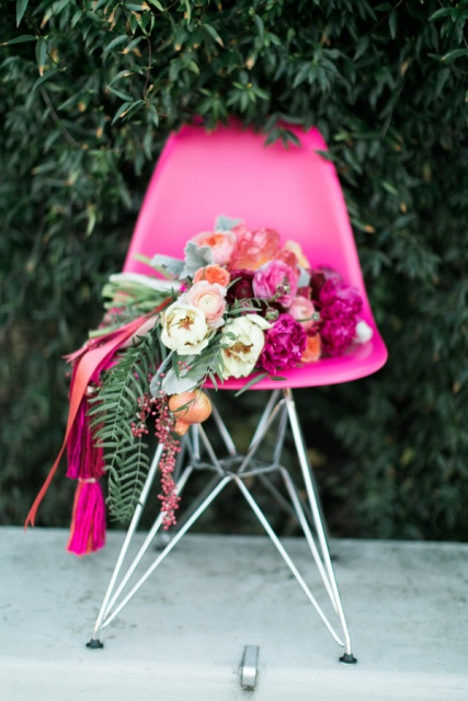 Picture Of Bright And Modern NYC Wedding 8