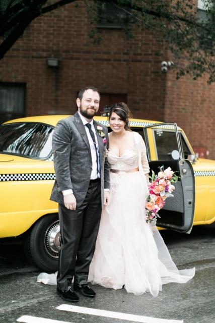Bold And Modern NYC Wedding