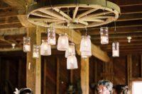 Hanging decor idea for ceremony