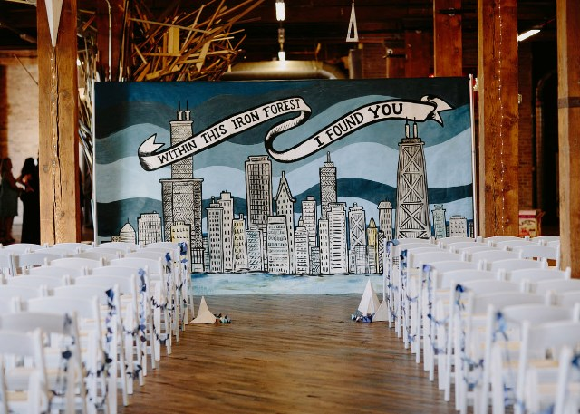 Playful And Art Filled Chicago Wedding