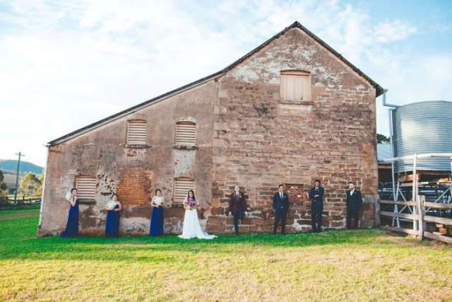 Rustic Barnyard Wedding In The Hunter Valley