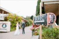 Skateboard wedding sign