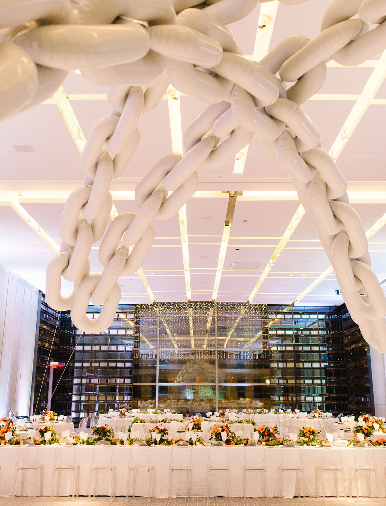 Picture Of black and gold wedding filled with confetti and champagne  23