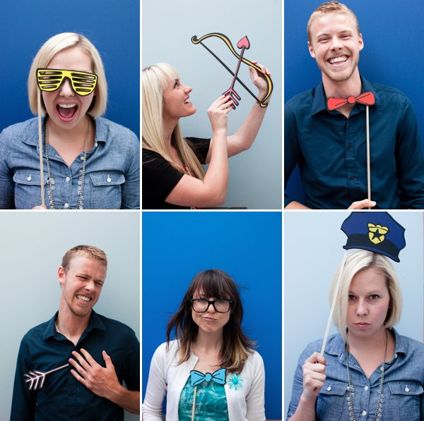 DIY free printable props for your photo booth (via popsugar)