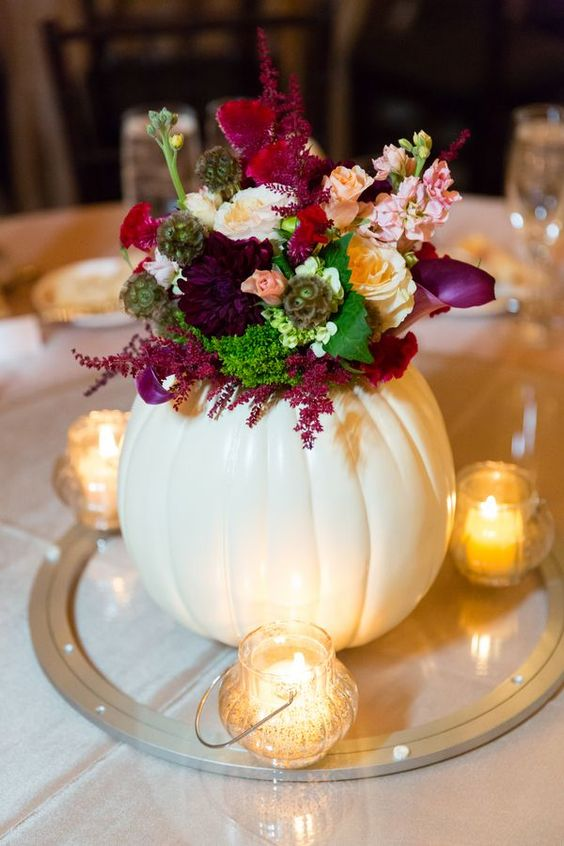 29 Ways To Use Pumpkins For Your Wedding Dcor Weddingomania