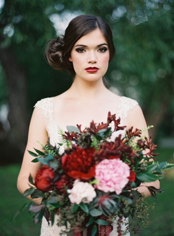 26 Fall Bridal Makeup Ideas You Need To Try Weddingomania