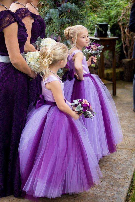bold purple tutu dresses