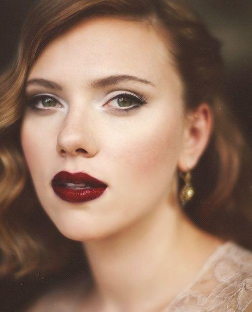 vampy lips look