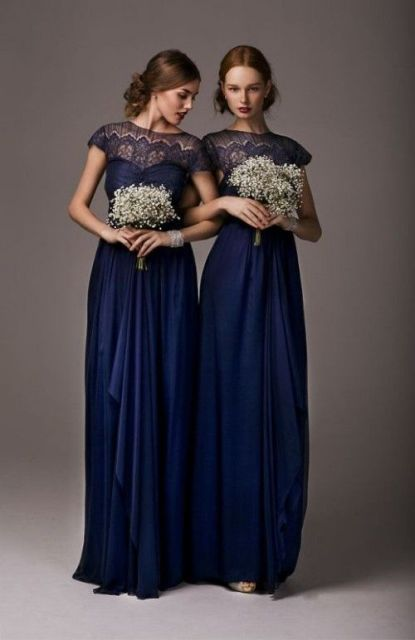 Midnight Blue Wedding Dresses 15 Epic Adorable maxi dresses with