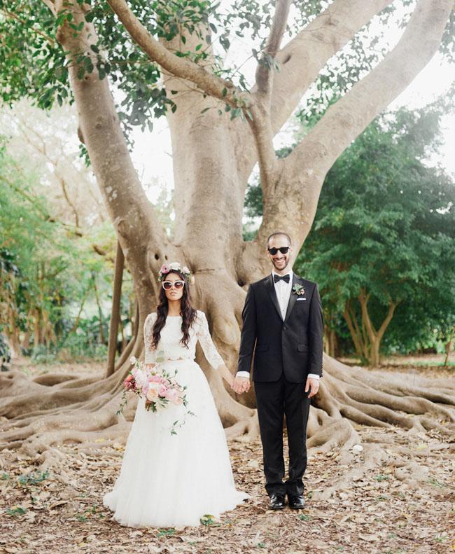 Bohemian Garden Wedding In Florida