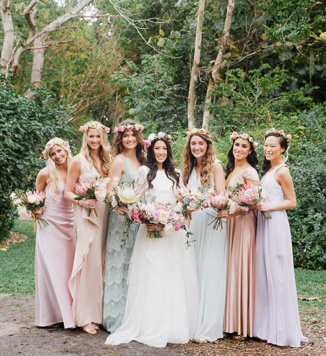Picture Of Bohemian Garden Wedding In Florida 6