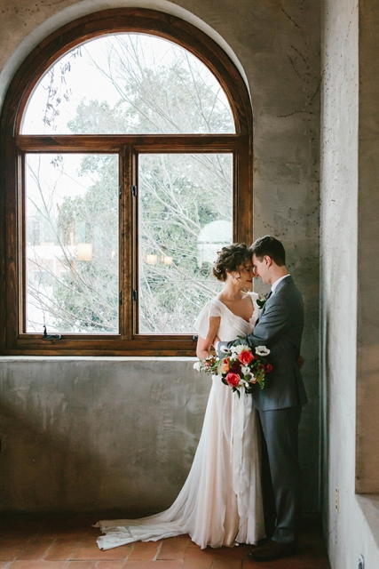 Chic Industrial Atlanta Wedding