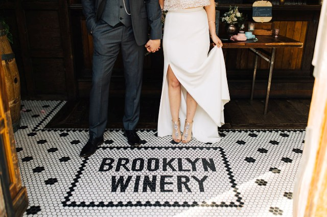 Picture Of Excellent Brooklyn Winery Wedding 12