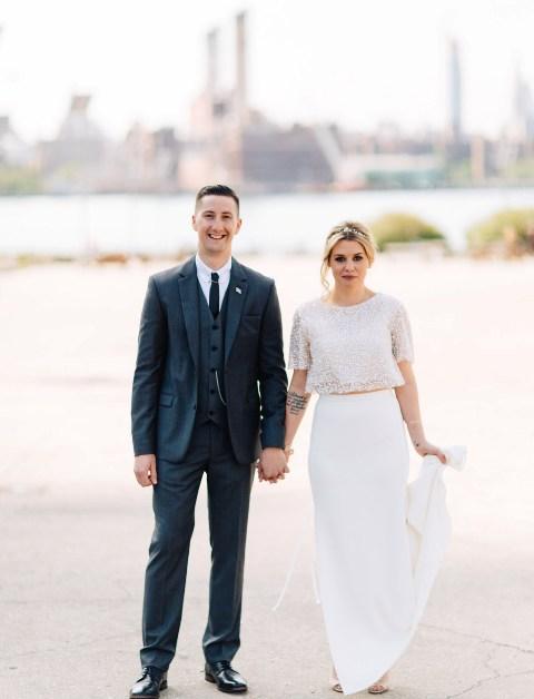 Garden Inspired Brooklyn Winery Wedding