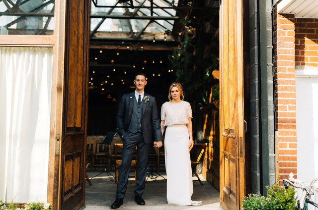 Garden-Inspired Brooklyn Winery Wedding