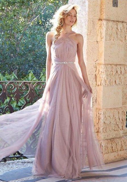 20 Wonderful Halter Bridesmaid Dress Ideas Weddingomania