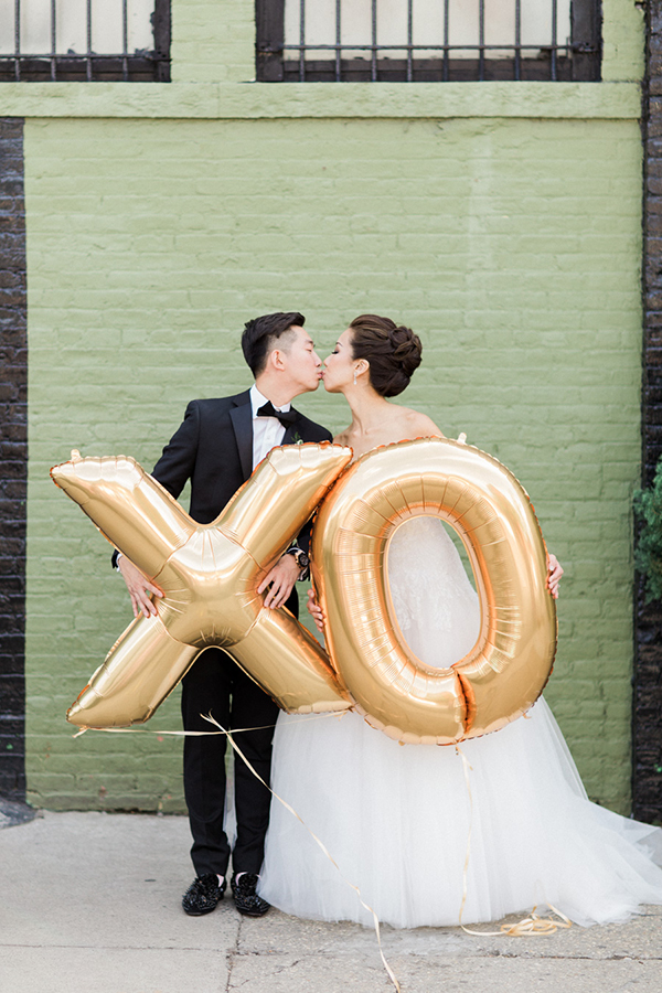 Modern New York Wedding At 501 Union