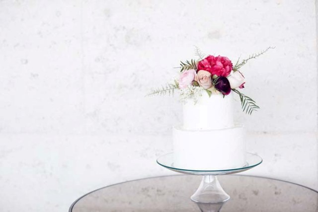 Modern Spectacular Floral Wedding