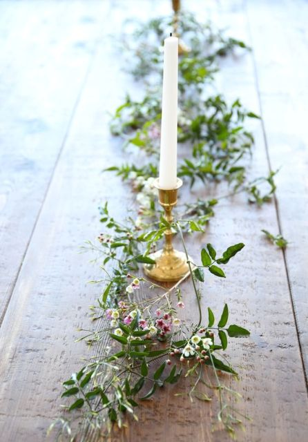 Perfect floral addition to wedding tables