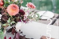 Simple and elegant table numbers