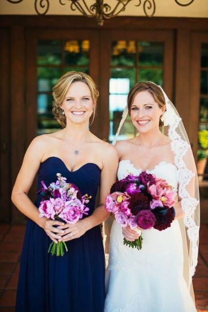Midnight Blue Wedding Dresses 84 Superb Strapless navy blue maxi