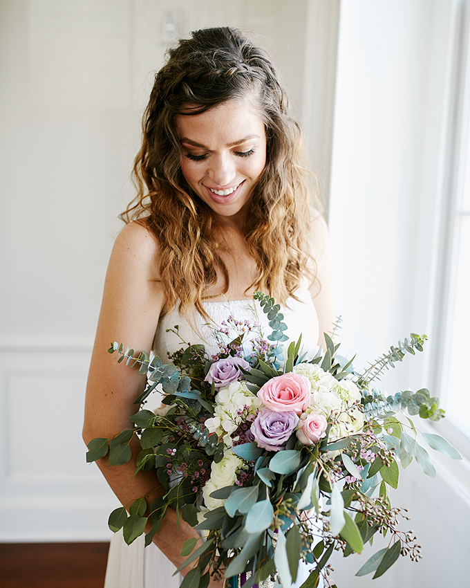 Wedding Hairstyles Boho: Boho Geometric Wedding Shoot In A Mix Of Colors