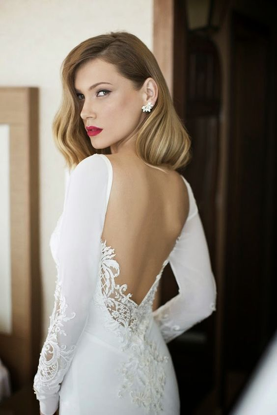 classic red lip is timeless and chic