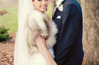 16 gorgeous fur vest to add a chic touch the bridal outfit