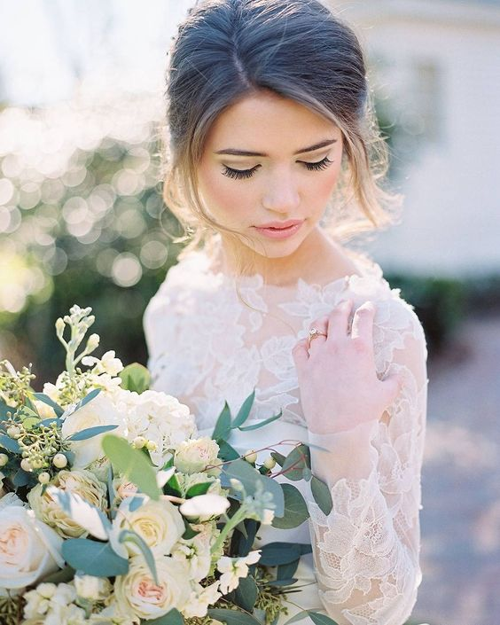 Winter Wedding Makeup Tips And Ideas Weddingomania