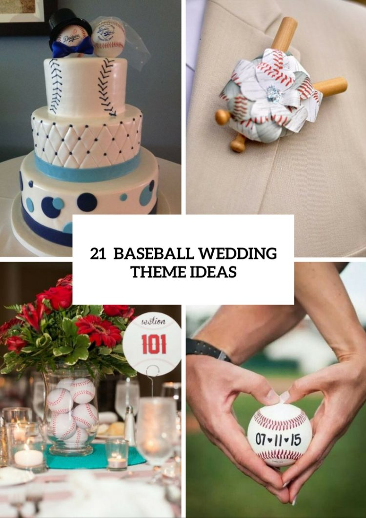 21 Funny Baseball Wedding Theme Ideas