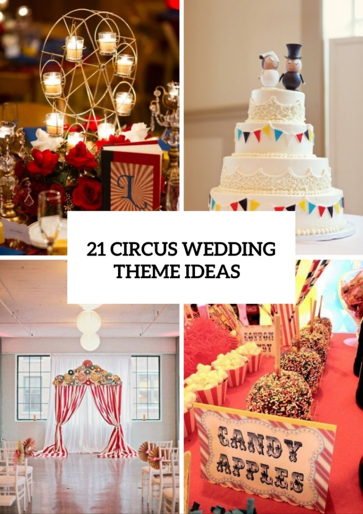 Whimsical Circus Wedding Theme Ideas