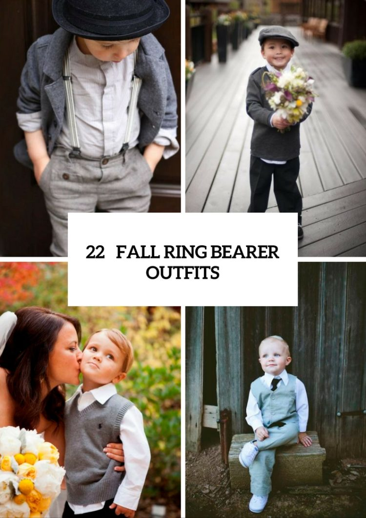 22 Comfy Fall Ring Bearer Outfits