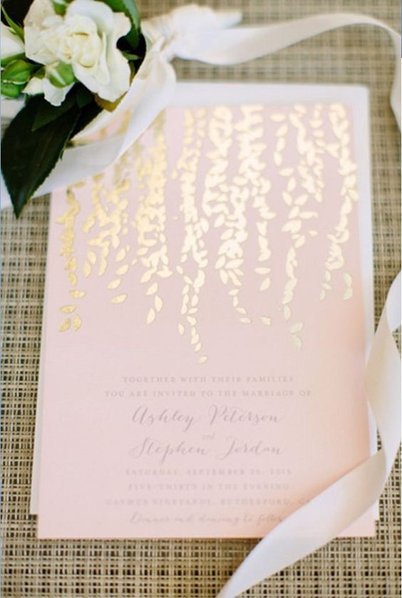 leaf-printed stationery