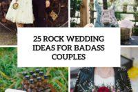 25 rock wedding ideas for badass couples cover