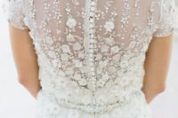 30 stunning floral applique on the back